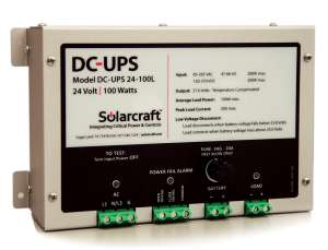 DC-UPS Power Supplies - Solarcraft Continuous Power & UPS Systems
