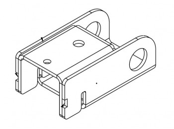 Ballast Block Claw with Studplate Assembly